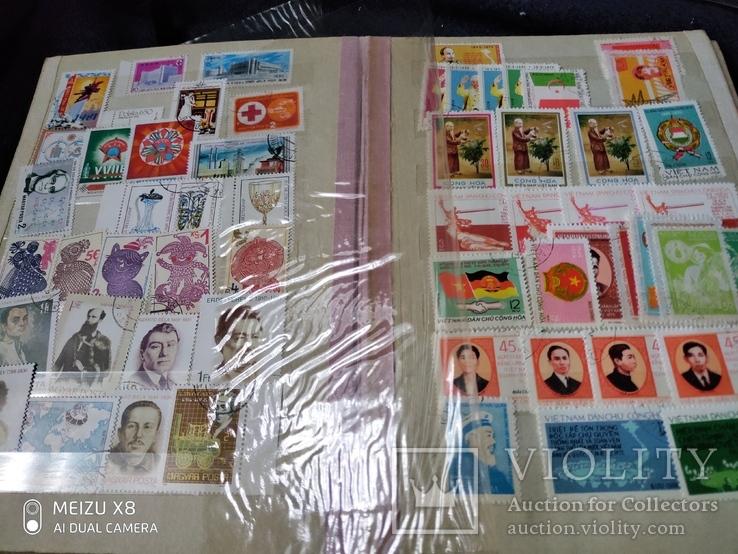 Кляссер с марками Европы + бонус гора марок, фото №8