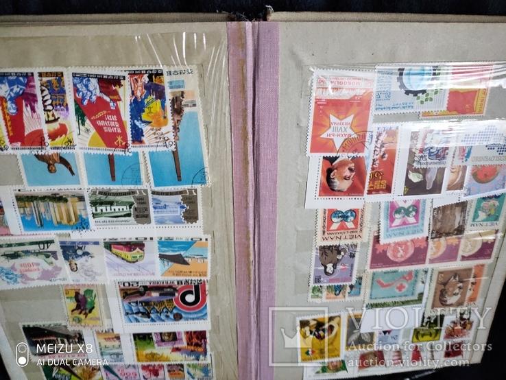 Кляссер с марками Европы + бонус гора марок, фото №9