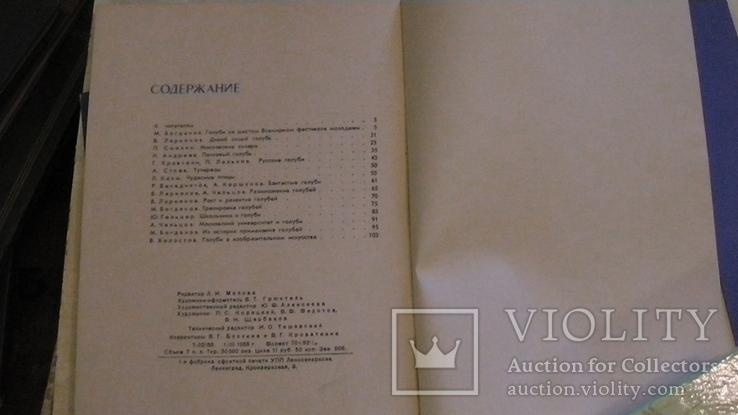 Голуби. Сборник статей. 1958 г., фото №9