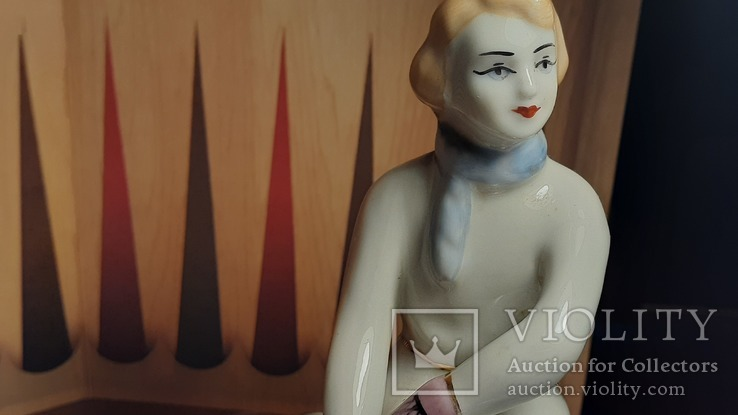 Девушка с  коньками ЗХК, фото №8
