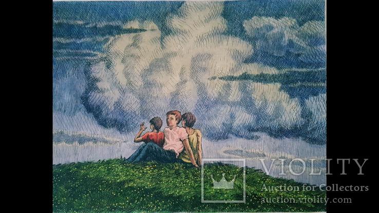 "Н.Н.Шелест,""21 вік у небі запалав"",3/8,1985-86 гг., фото №3"