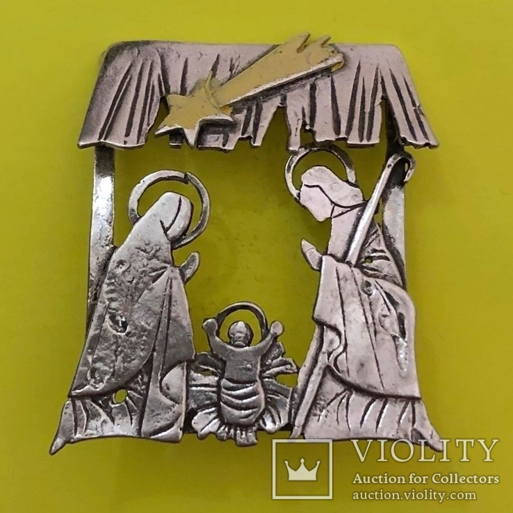 Фігура Різдво Срібло 14,01 грам., фото №2
