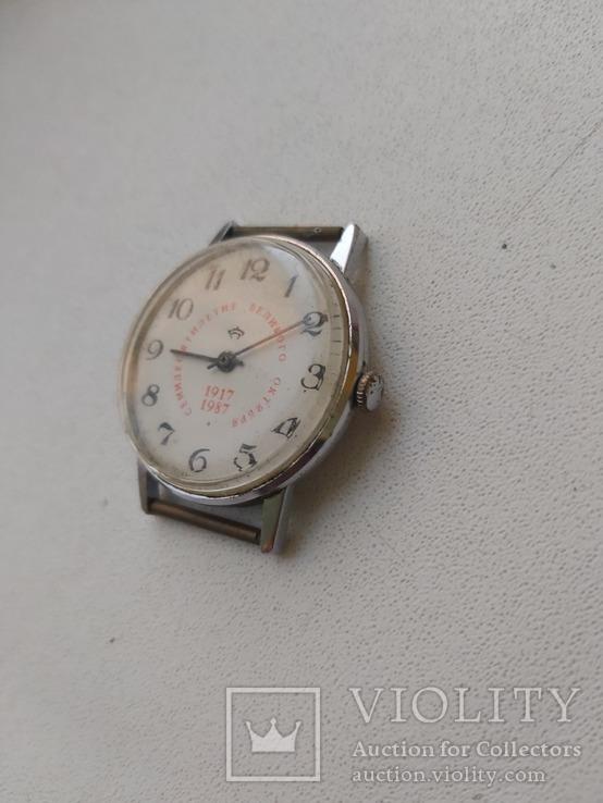 Часы 70 великого октября 1917,1987, фото №4