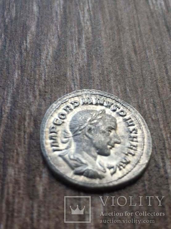Гордиан III (238-244) денарий, фото №2