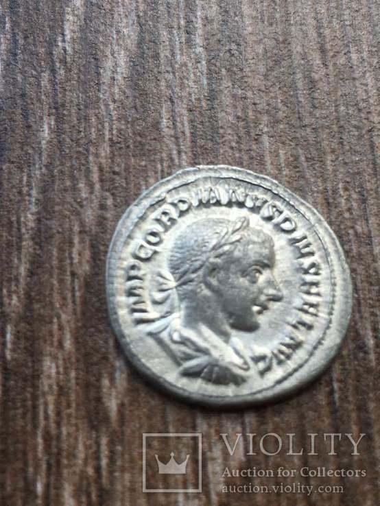 Гордиан III (238-244) денарий, фото №3
