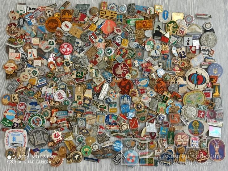 Значки СССР. Разная тематика - 2180 шт., фото №3