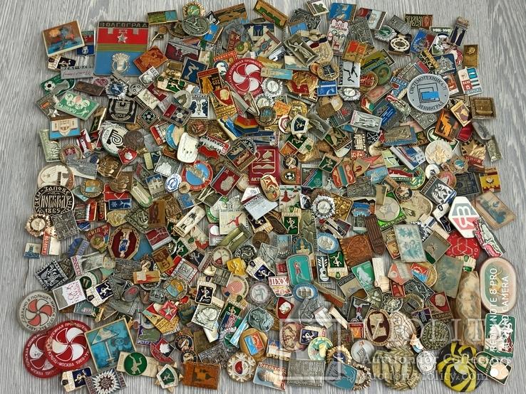 Значки СССР. Разная тематика - 2180 шт., фото №6