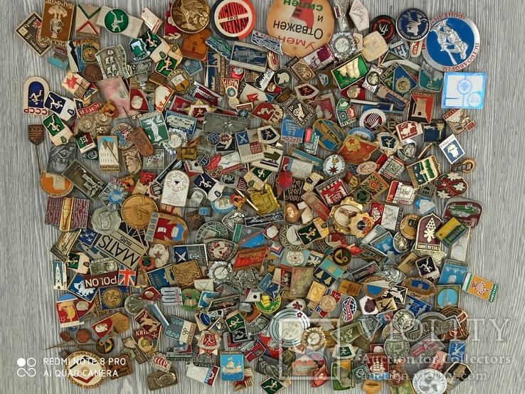 Значки СССР. Разная тематика - 2180 шт., фото №7