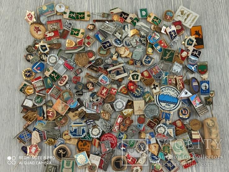 Значки СССР. Разная тематика - 2180 шт., фото №8
