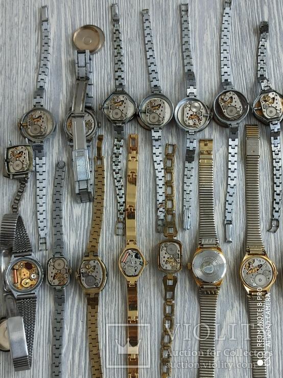 Часы женские / 85 шт. + 10 механизмов (большинство СССР), фото №6
