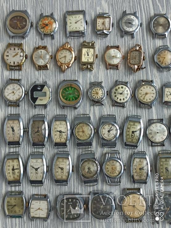 Часы женские / 85 шт. + 10 механизмов (большинство СССР), фото №9