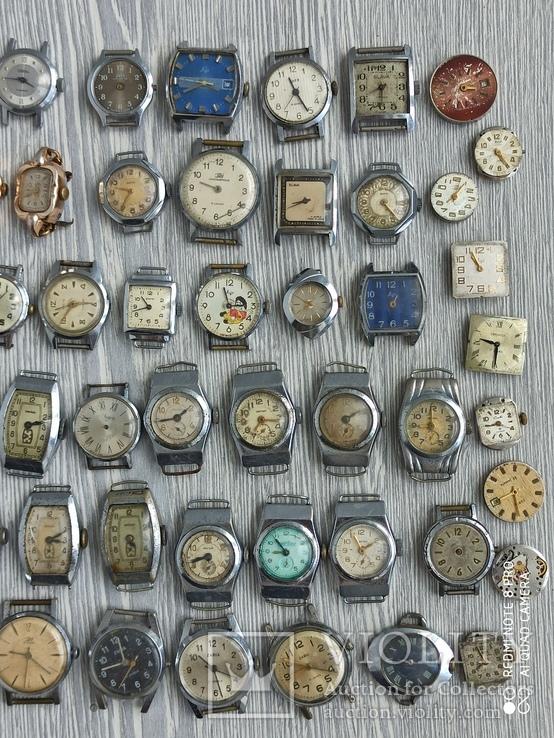 Часы женские / 85 шт. + 10 механизмов (большинство СССР), фото №10