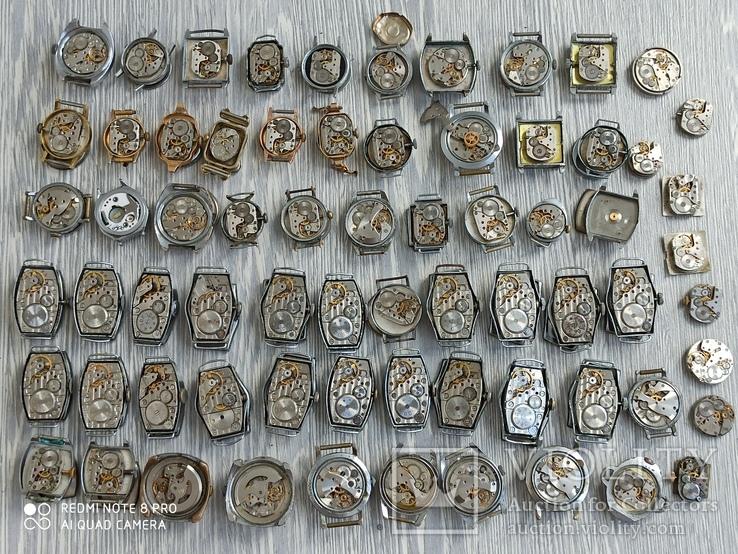 Часы женские / 85 шт. + 10 механизмов (большинство СССР), фото №11