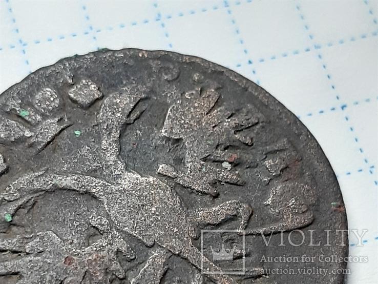 Деньга 1731 перечекан, фото №9