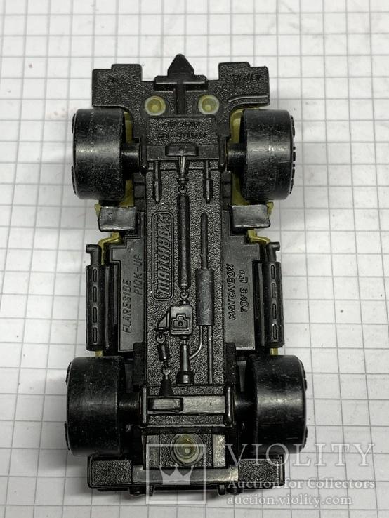 1982 Matchbox Flareside Pick-Up 1/76 Made in Macau, фото №9
