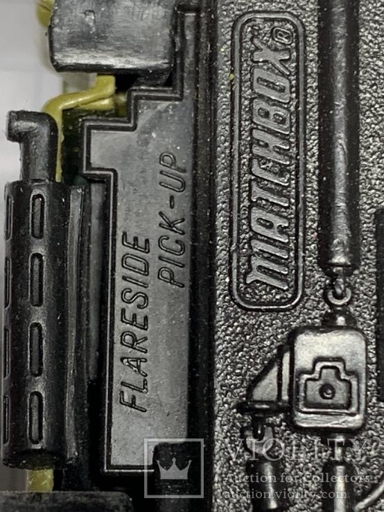 1982 Matchbox Flareside Pick-Up 1/76 Made in Macau, фото №11