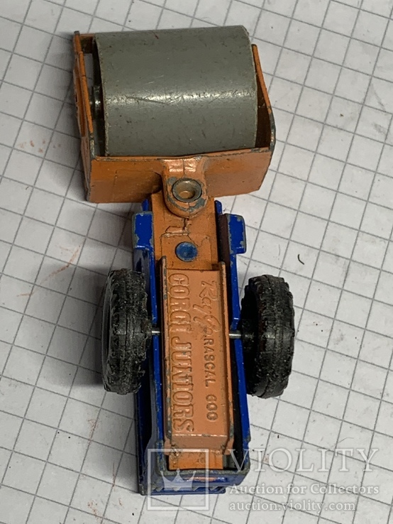 Corgi Juniors Ray Go Rascal 600 Steam Roller, фото №9