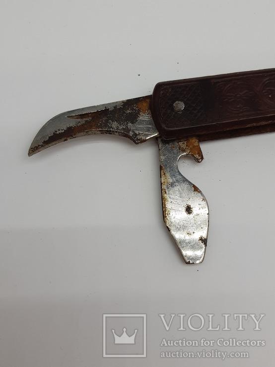 Нож складной, СССР, Знак качества, фото №4