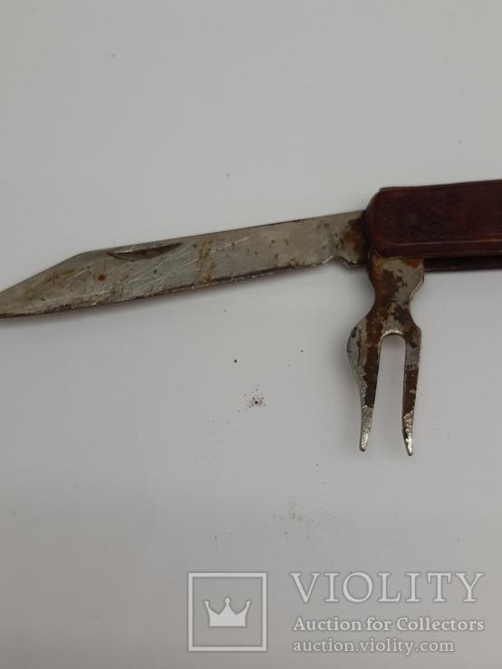 Нож складной, СССР, Знак качества, фото №9