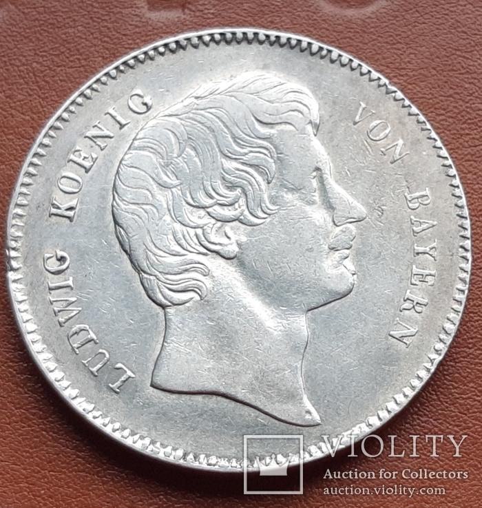 Талер 1829 р. Баварія  Людвиг I., фото №2