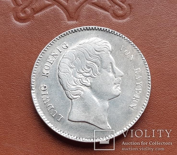 Талер 1829 р. Баварія  Людвиг I., фото №7