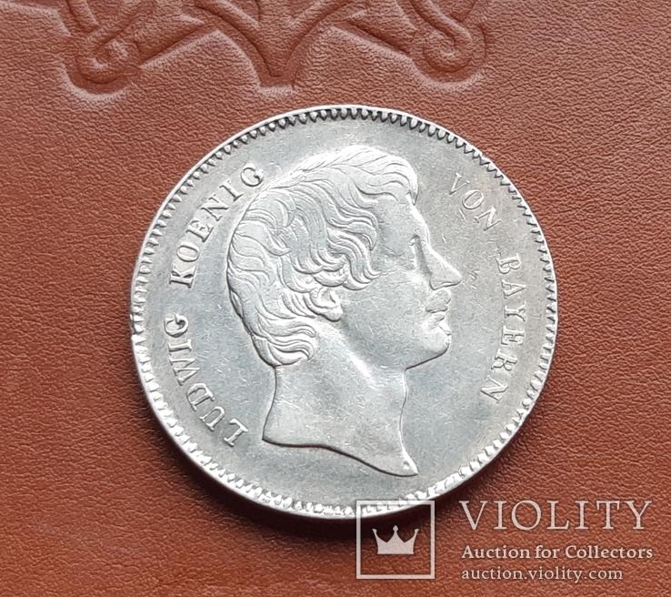 Талер 1829 р. Баварія  Людвиг I., фото №8