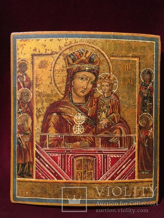 Икона БМ Тихвинская, фото №2