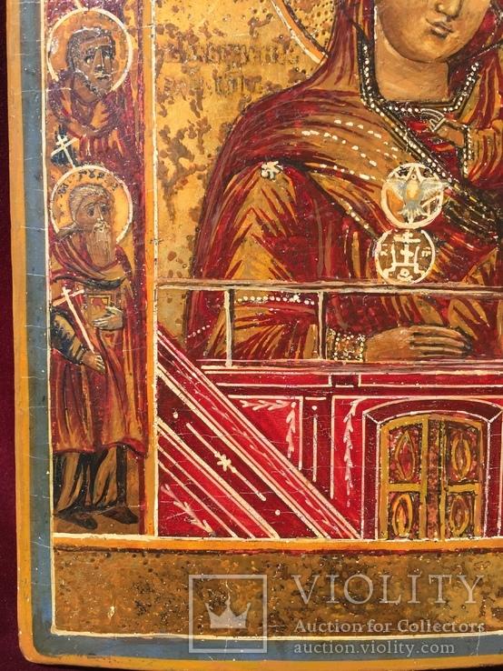Икона БМ Тихвинская, фото №3