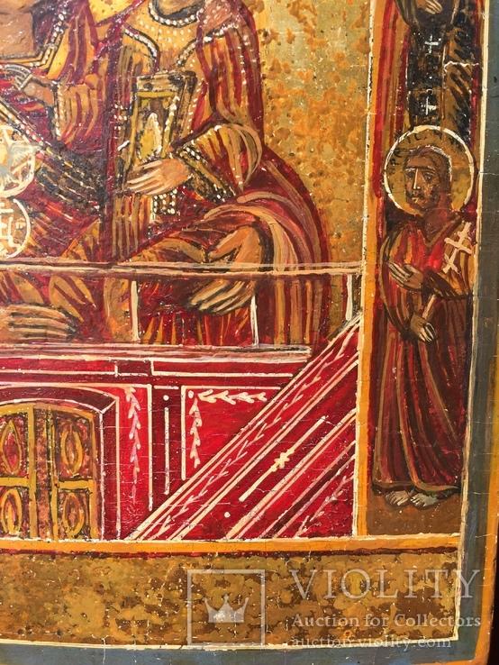 Икона БМ Тихвинская, фото №6