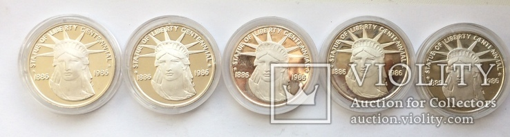 Жетоны США Серебро, фото №5