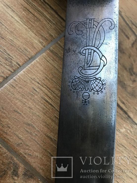 Клинок з ножнами. копия, фото №8