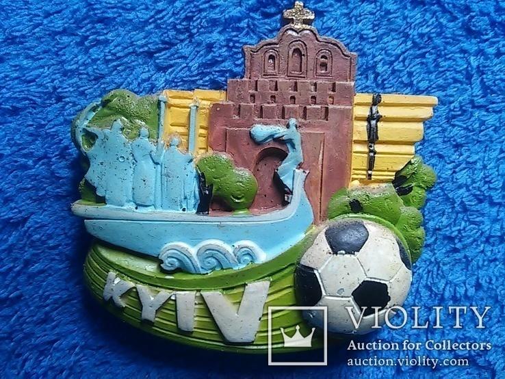 Сувенирный магнит: Kyiv  65Х5,5 см керамика, фото №6