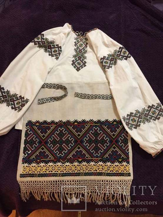 Комплект сорочка та фартух