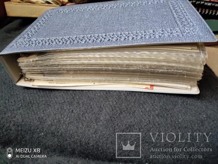 Альбом для открыток и конвертов на 85 листов полностью заполненный, фото №4