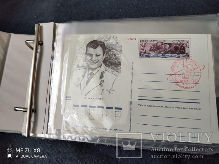 Альбом для открыток и конвертов на 85 листов полностью заполненный, фото №7