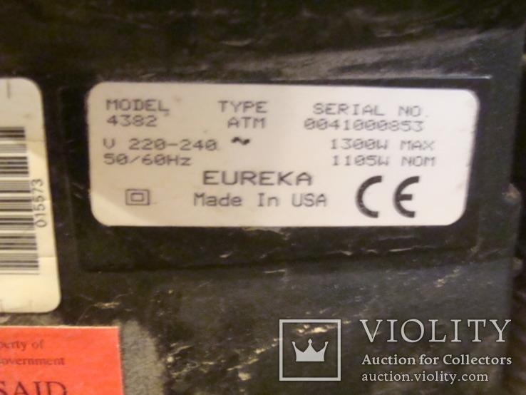 """Пылесос -циклон""""EUREKA"""" (USA), фото №5"""