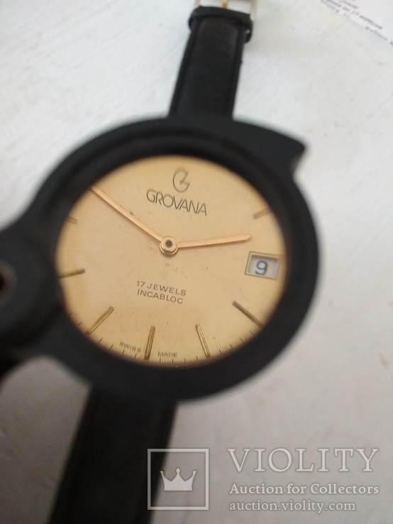 GROVANA швейцарские часы, фото №4