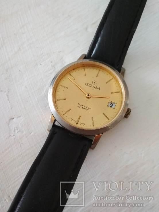 GROVANA швейцарские часы, фото №2
