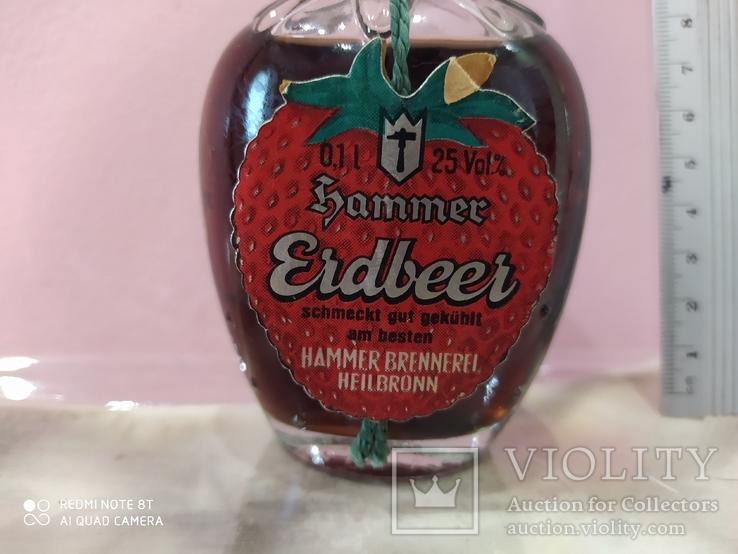 Мини бутылочка ERDBEER 0.1 L, фото №4