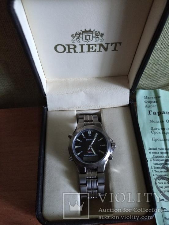 Часы Orient Тiтanium, фото №3