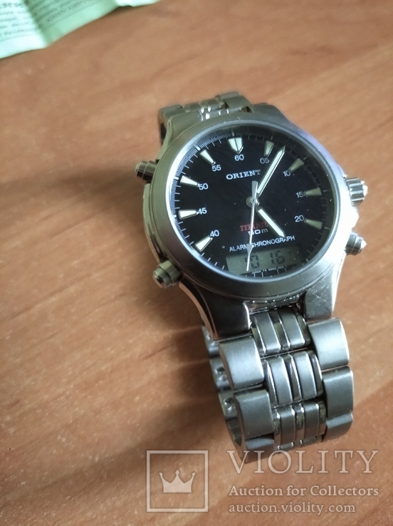 Часы Orient Тiтanium, фото №9