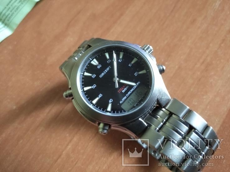 Часы Orient Тiтanium, фото №12
