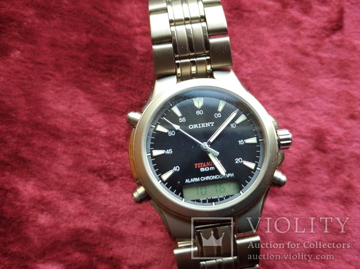 Часы Orient Тiтanium, фото №13