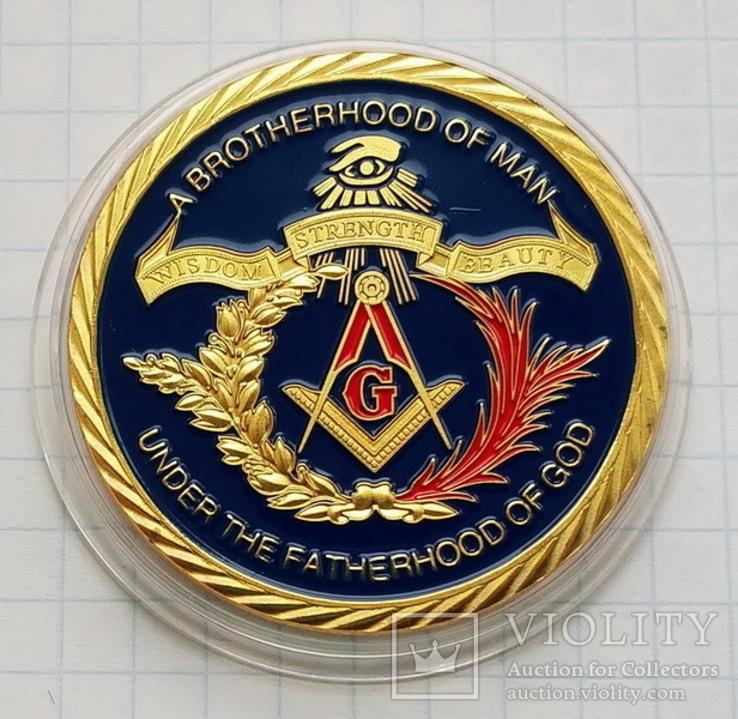 Жетон масонский №3, фото №2
