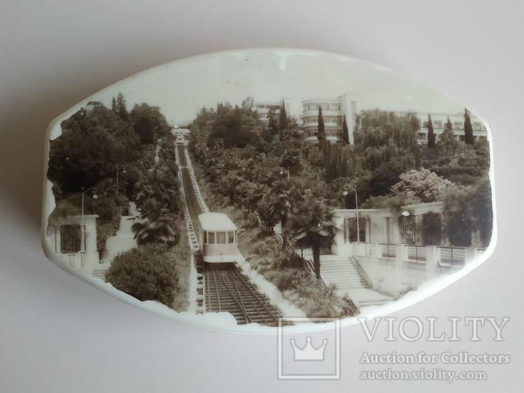 Шкатулка Сочи 1966 г., фото №4
