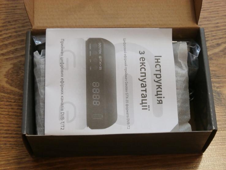 Ресивер(тюнер) DVB-T2 GEOTEX GTX-35 + Megogo,IPTV, фото №3