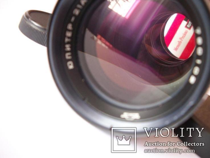 Объектив юпитер-21-А коллекц оригинальный футляр его и крышки, фото №5