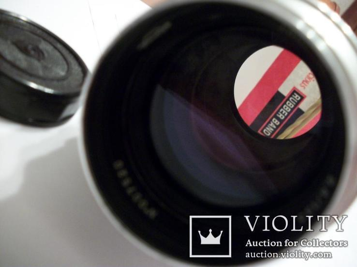 Объектив таир-11,гран-при брюссель [белый-luxe]футляр,крышки, фото №4