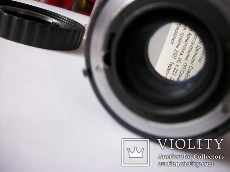 Объектив мс калейнар-5Н, 2,8/100 футляр оригинальный, фото №4