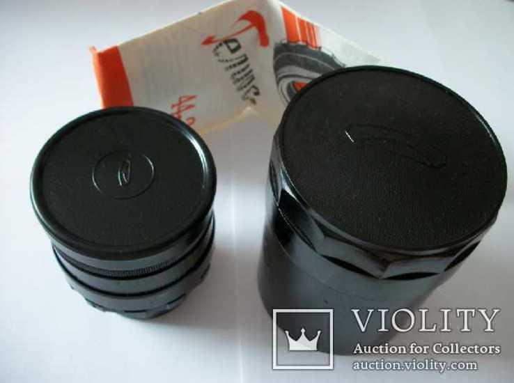 Объектив гелиос 44-2 , м-42 оригинальный заводской комплект, фото №3
